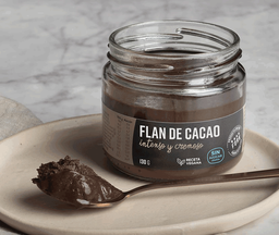 Flan de cacao (sin azúcar) Fork, 130 g