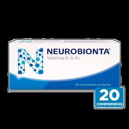 Neurobionta Multivitaminico 20 Comprmidos