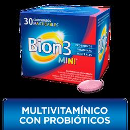 Bion3 Mini con Vitaminas, Minerales y Probióticos