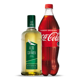 Alto Del Carmen Pisco + Bebida