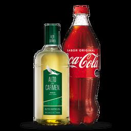 Pisco Alto Del Carmen + Bebida 1,5L