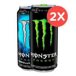 2 X Monster 473 Ml