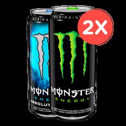 2 X Monster 473 Ml