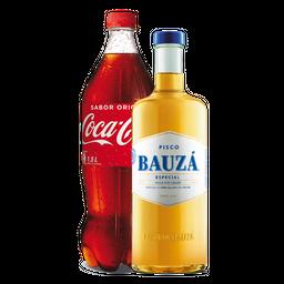 Pisco Bauza 1 L + Bebida 1,5 L