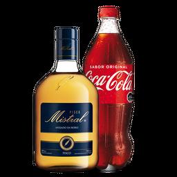 Pisco Mistral 750 Ml + Bebida 1,5 L