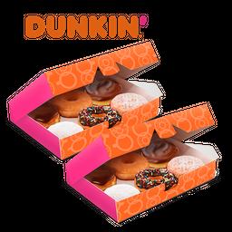 2 Cajas Surtidas Dunkin Donuts