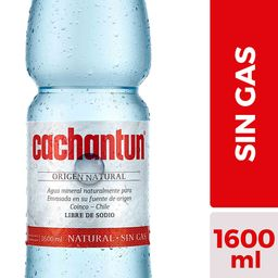 Agua Sin Gas Cachantun 1,6 L