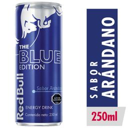 Bebida Energética Red Bull Blue ED Lata 250ml