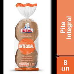 Pan Pita Integral Ideal 8 Un