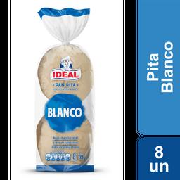 Pan Pita Blanco Ideal 8 Un