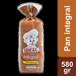 Pan De Molde Integral Ideal 580 G