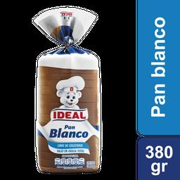 Pan De Molde Blanco Ideal 380 G