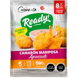 Cuisine & Co Camarones Cocidos Apanados Mariposasa