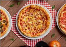 Pizza familiar pollo bbq (38cm)