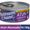 Robinson Crusoe Atun Lomitos Ahumados Drenado
