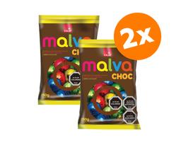 Promo 2X Chocolates Malva 250g