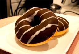 Donut Rellena de Chocolate