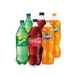 Promo: 6x Coca Cola 1.5Lt Variedades