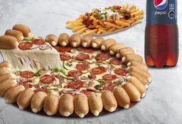 Combo Pizza Familiar Cheesy Pops