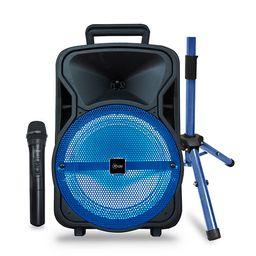 Mlab karaoke 8 city set microfono inalambrico at