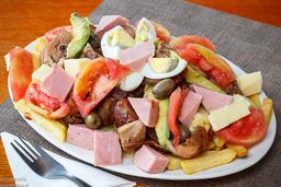 Pichanga de carnes para 3 personas