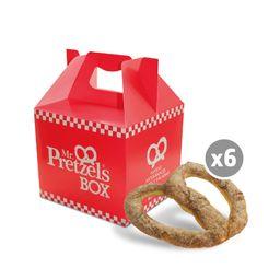 Pack  6 Pretzel Dulces / Canela O Glacee