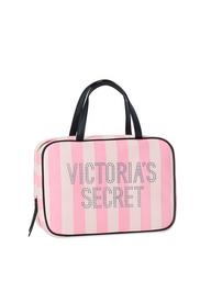 Estuche de viaje a rayas Victoria''s Secret