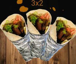 3x2 Shawarma de Falafel