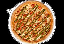 Pizza Pollo Caprese Familiar