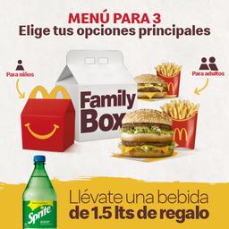 Family Box para 3