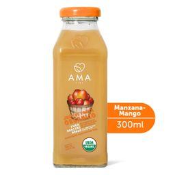 Jugo de manzana y mango orgánicos  300 cc