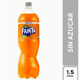 Fanta Sin Azúcar 1.5 l