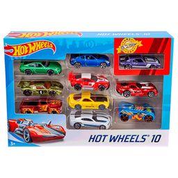 Hot Wheels Pack De 10 Autitos Basicos
