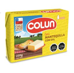 Mantequilla Colun Con Sal 250g
