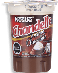 4 x Chandelle Nestlé Chocolate 130 G