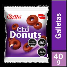 5 x Galleta Costa Mini Donuts 40 G
