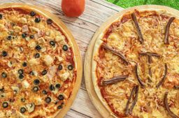 Dos Pizzas Familiares XL