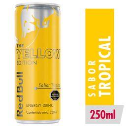 Red Bull Bebida Energetica Yellow Ed Lata