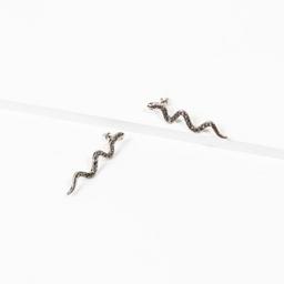 Aros colgantes largos NIGHT Serpientes