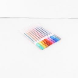 Set de 10 lapices con tinta de color