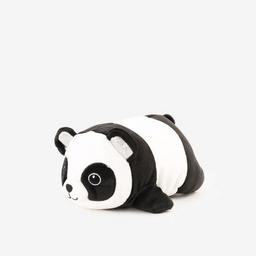 Peluche tamaño mediano con forma de oso panda.