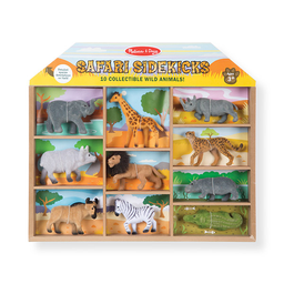 Set Animales Salvajes Coleccionables