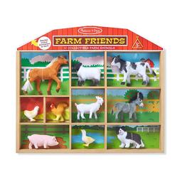 Set Animales De La Granja Coleccionables