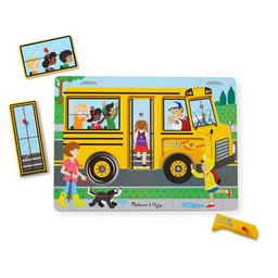 Puzzle Con Sonido - Autobús Escolar