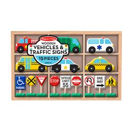 Set Vehículos Y Señales Del Tránsito
