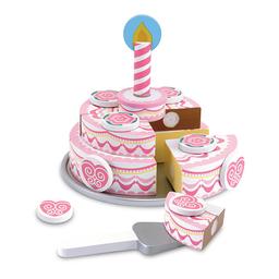 Torta De Cumpleaños De Madera