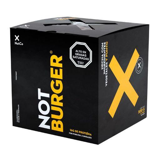 Not Burger Hamburguesa Vegana 100G 5Un