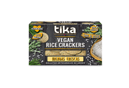 Tika Vegan Rice Crackers Amapola