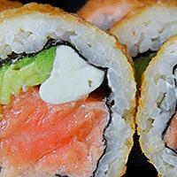 Furai sake roll