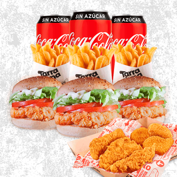 Combo Chicken Fillet Regular